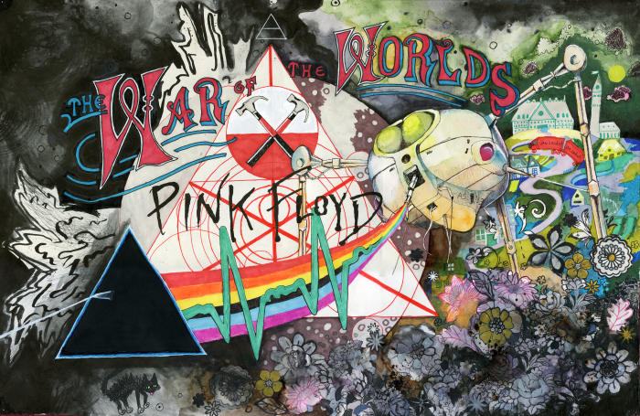 Pink war of the Floyds